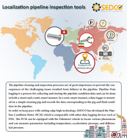 sedco+localization inline inspection tools+data looger+inline inspection+smart cleaning+intelligent pigging